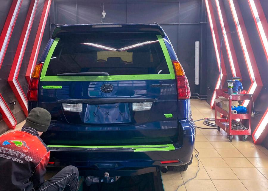 Покрытие кузова автомобиля жидким стеклом